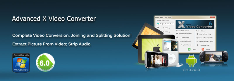 Video Converter, AVI to MPEG, Convert Video to MP4 3GP FLV
