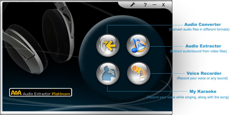 AoA Audio Extractor Platinum full screenshot